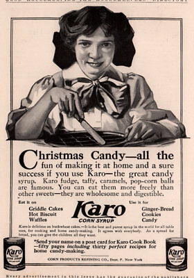 Ad Lot Of 3 Early  Karo Corn Syrup Ads