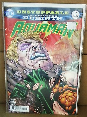 Aquaman #9 2016 DC Comics Rebirth