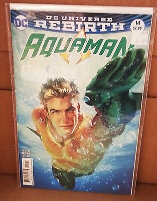Aquaman (2016) #14 Joshua Middleton DC Comics Rebirth