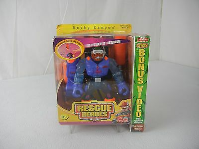 Fisher Price Rescue Heroes Rocky Canyon Flight Team NIP!!
