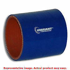 """Vibrant Silicone - Straight Hose Couplers 2710B Blue 2.5"""" ID x 3"""" Long"""