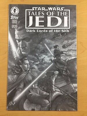 Star Wars Tales Of The Jedi Dark Lords Of The Sith Special Ashcan