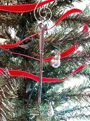 Horace Slughorn's Wand Christmas Tree Ornament Harry Potter Fan Gift