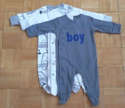 BNWT baby boys 3pk  CARS sleepsuits 0-3,12-18 months NEXT