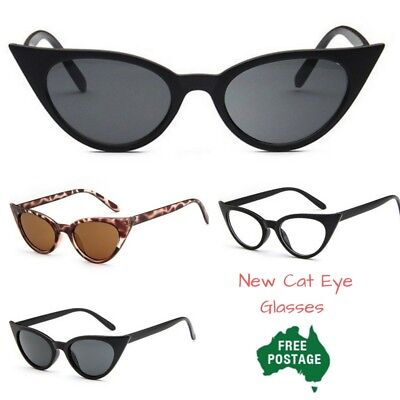 New Cat Eye Sunglasses vintage pointy Shades *AUS stock quick postage