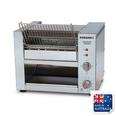 Conveyor Toaster 10 Amp Roband Commercial Tunnel Toaster 300 Slice/Hr TCR10