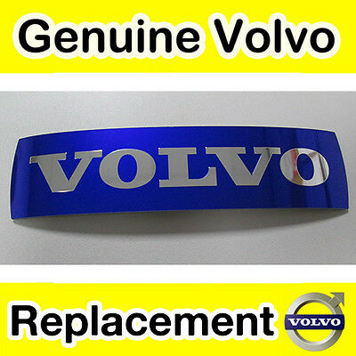 Genuine Volvo Replacement Adhesive Grille Logo Badge Emblem / Sticker