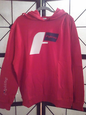 Title MMA/Boxing Fighting Sports Demand Hoodie Hoody Sweatshirt Red Size: Large