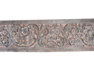 Antique Two Color Vintage Headboard Kamasutra Wall Hanging Sculpture Decor