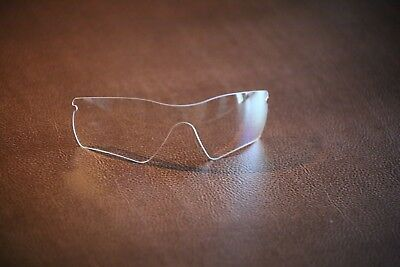 PolarLenz Clear / Transparent Replacement Lens for-Oakley Radar Path sunglasses