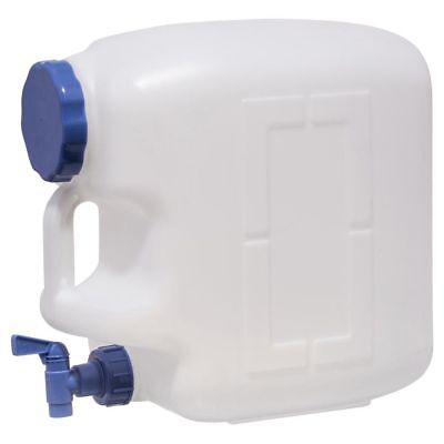 Water Container 23L Portable Water Carrier Outdoor Camping Picnic Storage Travel