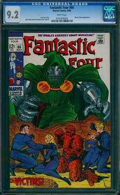 Fantastic Four # 86  Doctor Doom : The Victims !  CGC 9.2 scarce book !
