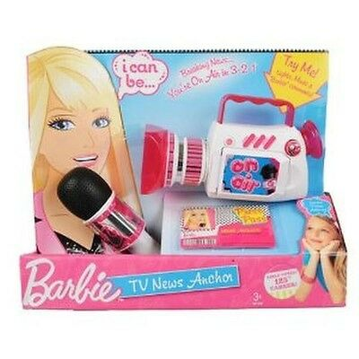 Barbie Tv News Anchor Electronic Toy With Microphone & Camcorder Gift Set