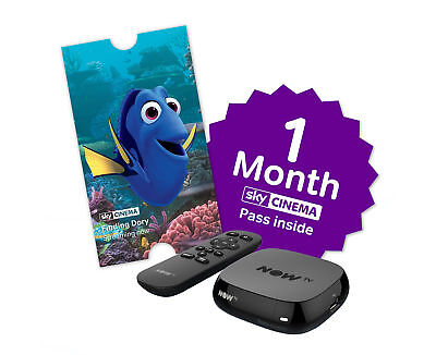 NOW TV Box with 1 Month Cinema Pass and Sky Store Voucher