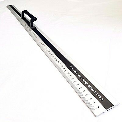 Jakar 1 Meter Aluminium Ruler With Handle DIY Rule Hand Tools 1M 100cm Cut 3028