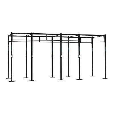 Rig Rack Base 12 Pu Station 4 Squat Cross Training Box Fitness J-Cups Crosstrain