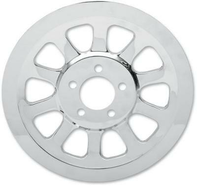 Drag Specialties Chrome Outer Rear Pulley Insert D26-0151