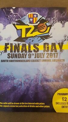 Nepl t20 finals day 2017 burnopfileld chester le street felling south north