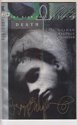 DEATH THE HIGH COST OF LIVING  1 ....VF/NM-...1993..SIGNED BY ARTIST! . Bargain!