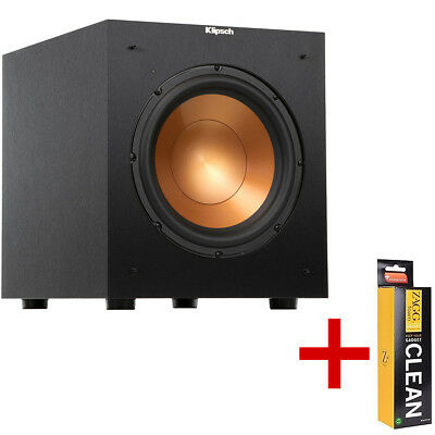 """Klipsch R-12SW Reference Series 12"""" 400 Watts Powered Subwoofer + Cleaner. NEW!!"""