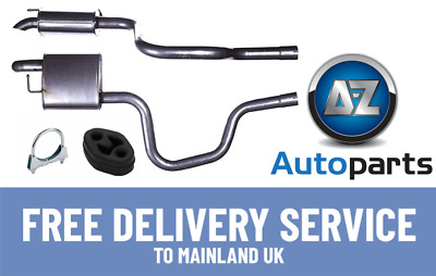 Ford Mondeo 2.0 2.2 Tdci Hatchback Saloon 04-07 Exhaust Rear Silencer Box FE982P