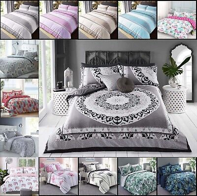 LeahWard Elephant / Cat Duvet Cover with Pillow Case Quilt Cover Bedding Set