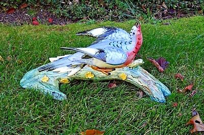 Rare Stangl Pottery Passenger Pigeon #3450 Excellent Condition Vibrant Colors