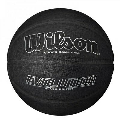 Wilson Sports Evolution Black Edition Composite Leather Indoor Basketball Size 7