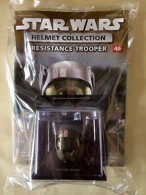 STAR WARS Helmet Collection Issue #46 RESISTANCE TROOPER