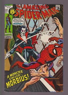 Amazing Spider-Man # 101 A Monster Called...Morbius !  grade 6.0 scarce book !