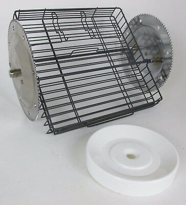 Ronco Showtime Rotisserie 4000 5000 GEAR WHEEL Spit Rods BBQ Grill Basket Base