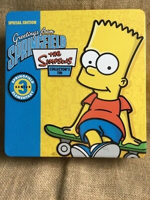 The Simpsons Greetings From Springfield Collectors Tin Series 3
