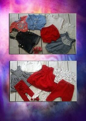 123x NEW USED BUNDLE OUTFITS MONSOON NEXT GIRL 0/3 M 3/6 PHOTOS IN DESCRIPTION(8