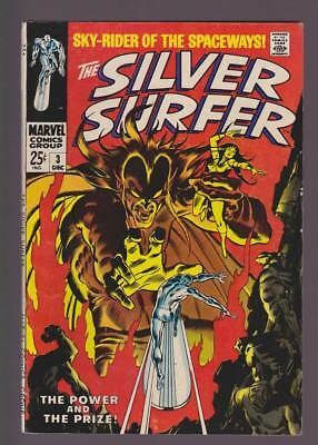 Silver Surfer # 3  The Power and the Prize !   grade 6.5 scarce book !