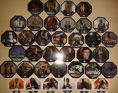 Trading Cards Star Wars Cosmic Shells 2015 Full Set 36 of 36 Cards rare top