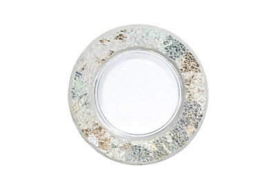 YANKEE CANDLE piattino grande Gold And Pearl Crackle large Tray
