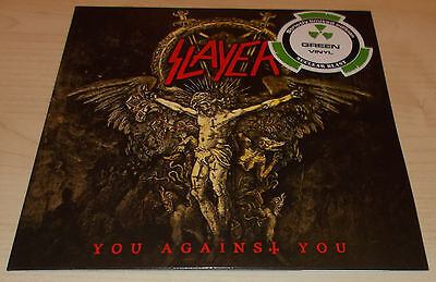 "Slayer-You Against You-2016 Green Vinyl 7""-Ltd To 300 Only-New"