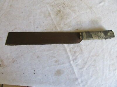 "Vintage 14"" Blade Machete Corn Knife Marked Austria Rough Handle   Lot 17-73-2"