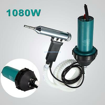 110V 1080W Plastic Hot Air Welding Gun Plastic Gas Welder Pistol 40°C - 550°C