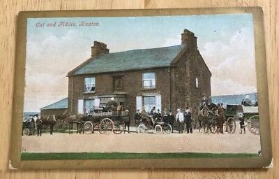 Cat And Fiddle Buxton Postcard Published By Valentine