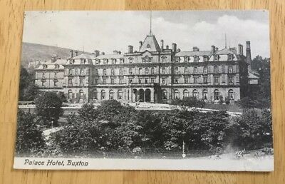 Palace Hotel Buxton Postcard Published By Latham Posted 1909