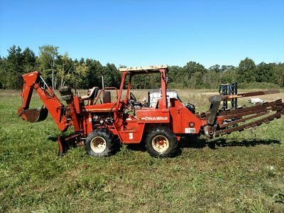 Ditch Witch 5110 1997 4W Steering & Drive W/ A420 Backhoe, Lots Of New Parts