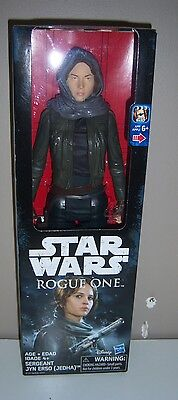 "Disney Star Wars Rogue One Sergeant Jyn Erso (Jedha) Figure - 12"" New In Box"