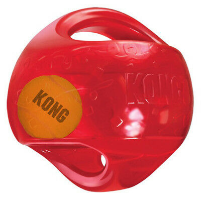 "KONG - Holiday Jumbler Ball Dog Toy Medium/Large - 5.5"" Diameter"
