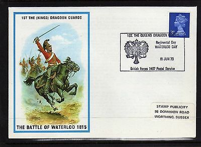 GB 1st Dragoon Guards 18 Jun 73. Battle of Waterloo. BFPS 1407 L8