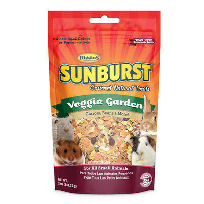 HIGGINS - Sunburst Veggie Garden Gourmet Treats for all Small Animals - 5oz