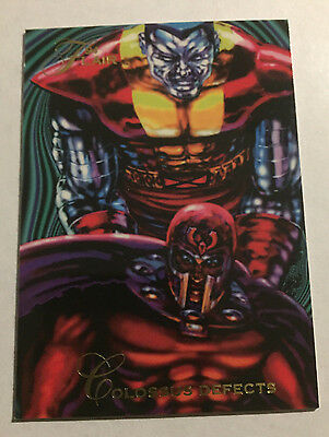 1994 Flair Marvel Colossus Defects #122