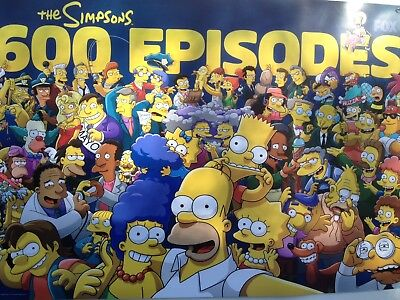 Simpsons 600 Episode Commemorative Poster