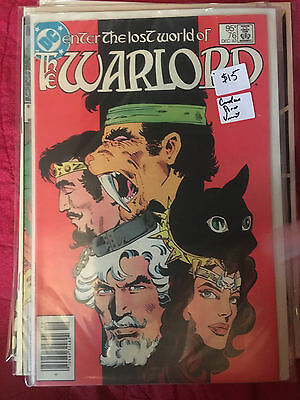 THE WARLORD #76 NM- 1st Print CANADIAN PRICE VARIANT DC Comic