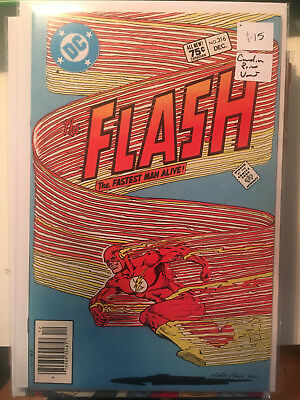 THE FLASH #316 NM- 1st Print CANADIAN PRICE VARIANT Newsstand